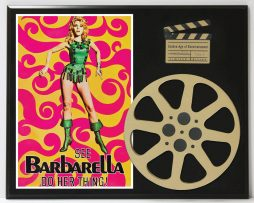 BARBARELLA-JANE-FONDA-LIMITED-EDITION-MOVIE-REEL-DISPLAY-182164832813