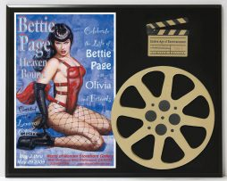BETTY-PAGE-HEAVEN-BOUND-POSTER-LIMITED-EDITION-MOVIE-REEL-DISPLAY-172236571303