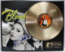 BLONDIE-DEBBIE-HARRY-GOLD-LP-LTD-EDITION-REPRODUCTION-SIGNATURE-RECORD-DISPLAY-181978346473