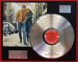 BOB-DYLAN-PLATINUM-RECORD-DISPLAY-ETCHED-W-LYRICS-TO-BLOWIN-IN-THE-WIND-181461380883
