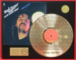 BOB-SEGER-LTD-EDITION-GOLD-LP-RECORD-LASER-ETCHED-W-LYRICS-TO-THE-SONG-181000131703