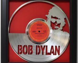 Bob-Dylan-Framed-Laser-Cut-Platinum-Vinyl-Record-in-Shadowbox-Wallart-182327990673