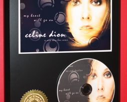 CELINE-DION-LIMITED-EDITION-PICTURE-CD-DISC-RARE-COLLECTIBLE-MUSIC-DISPLAY-180857610773
