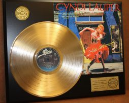 CYNDI-LAUPER-GOLD-LP-LTD-EDITION-RECORD-DISPLAY-AWARD-QUALITY-COLLECTIBLE-170861691643