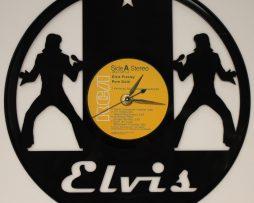 ELVIS-PRESLEY-2-LASER-CUT-VINYL-LP-RECORD-WALL-CLOCK-FREE-SHIPPING-171967906313