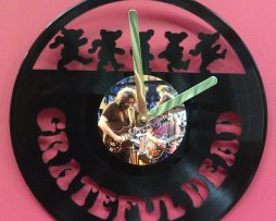 GRATEFUL-DEAD-LP-VINYL-RECORD-CLOCK-CUSTOM-LASER-CUT-PLAYS-SONG-TOUCH-OF-GREY-171026941443