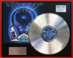 JOURNEY-PLATINUM-LP-RECORD-DISPLAY-PLAYS-THE-SONG-SEPARATE-WAYS-FREE-SHIPPING-181108988373