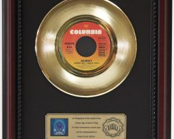 JOURNEY-SEPARATE-WAYS-GOLD-RECORD-FRAMED-CHERRYWOOD-DISPLAY-K1-172204361743