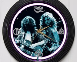 LED-ZEPPELIN-3-15-PURPLE-NEON-ROCK-N-ROLL-WALL-CLOCK-K1-172219422623