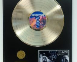 LED-ZEPPELIN-GOLD-LP-RECORD-DISPLAY-ACTUALLY-PLAYS-THE-SONG-BLACK-DOG-181113949083