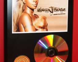 MARY-J-BLIGE-24kt-GOLD-CDDISC-COLLECTIBLE-RARE-AWARD-QUALITY-PLAQUE-180861209363