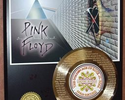 PINK-FLOYD-ETCHED-WLYRICS-WE-DONT-NEED-45kt-GOLD-RECORD-LTD-EDITION-170758455773