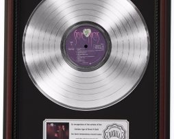STEVIE-NICKS-PLATINUM-LP-RECORD-FRAMED-CHERRYWOOD-DISPLAY-K1-172212703423
