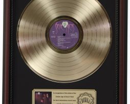 STEVIE-NICKS-WILD-HEART-GOLD-LP-RECORD-FRAMED-CHERRYWOOD-DISPLAY-K1-182136971903