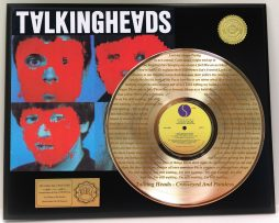 TALKING-HEADS-GOLD-LP-RECORD-DISPLAY-LASER-ETCHED-W-LYRICS-TO-THE-SONG-181448353483