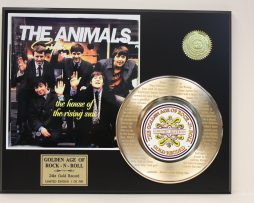 THE-ANIMALS-GOLD-RECORD-LIMITED-EDITION-LASER-ETCHED-WITH-SONGS-LYRICS-181447644623