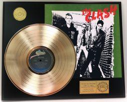 THE-CLASH-GOLD-LP-LTD-EDITION-RARE-RECORD-AWARD-QUALITY-DISPLAY-SHIPS-FREE-171220368253