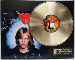 TOM-PETTY-GOLD-LP-LTD-EDITION-REPRODUCTION-SIGNATURE-RECORD-DISPLAY-181978757433