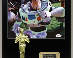 TOY-STORY-BUZZ-LIGHTYEAR-Reproduction-Cast-Signed-8x10-Oscar-Movie-Display-181826901203