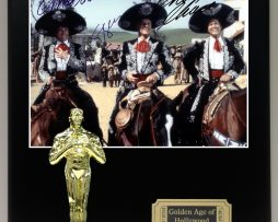3-Amigos-Reproduction-Cast-Signed-8-x-10-Photo-LTD-Edition-Oscar-Movie-Display-171885250034