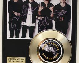 5-SECONDS-OF-SUMMER-GOLD-45-RECORD-LTD-EDITION-SIGNATURE-SERIES-SHIPS-US-FREE-181626159574