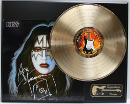 ACE-FREHLEY-GOLD-LP-LTD-EDITION-REPRODUCTION-SIGNATURE-RECORD-DISPLAY-172047837944