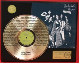 ALICE-COOPER-LTD-EDITION-GOLD-LP-RECORD-LASER-ETCHED-W-LYRICS-TO-HIS-SONG-170926712244