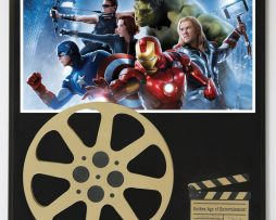 AVENGERS-POSTER-ROBERT-DOWNEY-JR-AND-MORE-LIMITED-EDITION-MOVIE-REEL-DISPLAY-182164827724