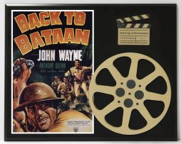 BACK-TO-BATAAN-WITH-JOHN-WAYNE-LIMITED-EDITION-MOVIE-REEL-DISPLAY-182174600184