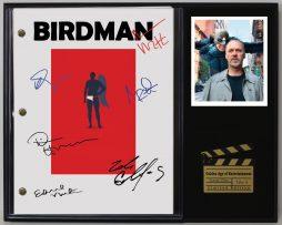 BIRDMAN-LTD-EDITION-REPRODUCTION-MOVIE-SCRIPT-CINEMA-DISPLAY-C3-172146684814