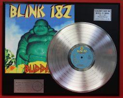 BLINK-182-BUDDHA-PLATINUM-LP-LTD-EDITION-RECORD-DISPLAY-AWARD-QUALITY-181085718614