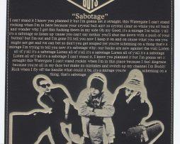 Beastie-Boys-Laser-Etched-Lyric-Band-Art-Black-Leatherette-Plaque-C3-182300560524