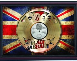 Black-Sabbath-Paranoid-Cherry-Frame-Laser-Cut-Gold-Record-Flag-K1-172344595134