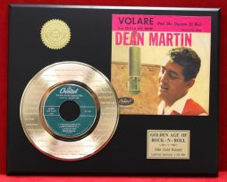 DEAN-MARTIN-24KT-GOLD-45-RECORD-LTD-ETCHED-WITH-AMORE-FREE-US-SHIPPING-GIFT-170935058314