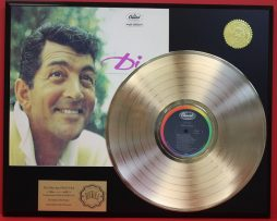 DEAN-MARTIN-24KT-GOLD-LP-LTD-EDITION-RARE-RECORD-DISPLAY-AWARD-QUALITY-181083901524