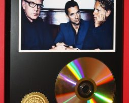 DEPECHE-MODE-24kt-GOLD-CDDISC-COLLECTIBLE-RARE-AWARD-QUALITY-PLAQUE-GIFT-170835475104