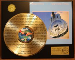 DIRE-STRAITS-LTD-GOLD-LP-RECORD-LASER-ETCHED-W-LYRICS-TO-MONEY-FOR-NOTHING-181003473924