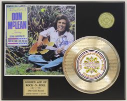 DON-McLEAN-VINCENT-GOLD-RECORD-LIMITED-EDITION-LASER-ETCHED-WITH-SONGS-LYRICS-171369040434