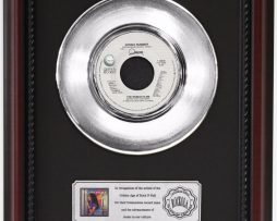 DONNA-SUMMER-THE-WOMAN-IN-ME-PLATINUM-RECORD-FRAMED-CHERRYWOOD-DISPLAY-K1-172204283104