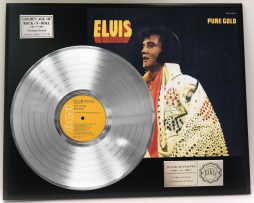 ELVIS-PRESLEY-ELVIS-PURE-GOLD-PLATINUM-LP-LTD-EDITION-RECORD-DISPLAY-171237226924