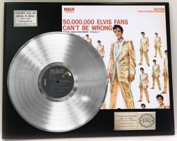 ELVIS-PRESLEY-GOLD-RECORDS-VOLUME-2-PLATINUM-LP-LTD-EDITION-RECORD-DISPLAY-181319182634
