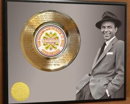 FRANK-SINATRA-LTD-LASER-ETCHED-WITH-LYRICS-TO-MY-WAY-POSTER-ART-GOLD-RECORD-181466463344