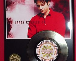 HARRY-CONNICK-LIMITED-EDITION-GOLD-45-RECORD-DISPLAY-171373877114