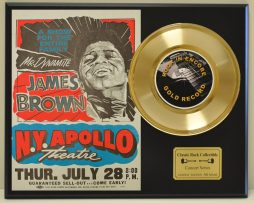 JAMES-BROWN-APOLLO-THEATER-LTD-EDITION-CONCERT-POSTER-SERIES-GOLD-45-DISPLAY-181234594584