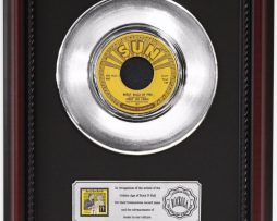 JERRY-LEE-LEWIS-BALLS-OF-FIRE-PLATINUM-RECORD-FRAMED-CHERRYWOOD-DISPLAY-K1-182129092124