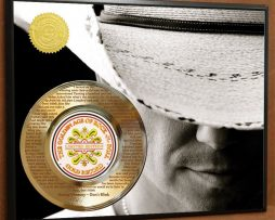 KENNY-CHESNEY-LASER-ETCHED-WITH-LYRICS-TO-DONT-BLINK-POSTER-ART-GOLD-RECORD-181466477634
