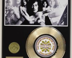 LED-ZEPPELIN-BLACK-DOG-GOLD-RECORD-LTD-EDITION-LASER-ETCHED-WITH-SONGS-LYRIC-171374654744