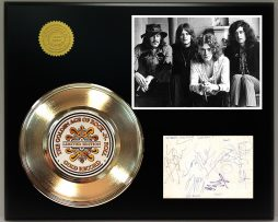 LED-ZEPPELIN-GOLD-RECORD-SIGNATURE-SERIES-LIMITED-EDITION-DISPLAY-172060227794