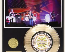 LYNYRD-SKYNYRD-GOLD-45-RECORD-LIMITED-EDITION-LASER-ETCHED-W-SONG-LYRICS-181940393084