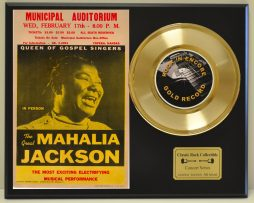 MAHALIA-JACKSON-LTD-EDITION-CONCERT-POSTER-SERIES-GOLD-45-DISPLAY-SHIPS-FREE-181234637774